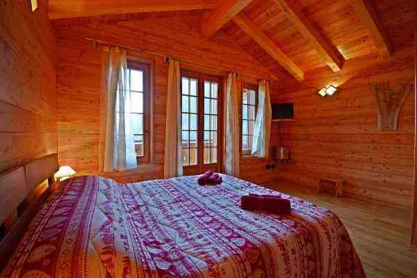 Bed and breakfast chalet Il Picchio Camera due letti