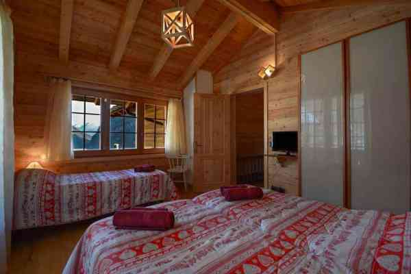 Bed and breakfast chalet Il Picchio Camera matrimoniale Varzo San Domenico